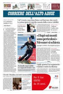 Corriere dell'Alto Adige - 18 Marzo 2018