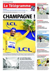 Le Télégramme Guingamp – 09 juillet 2019