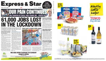 Express and Star City Edition – June 26, 2020