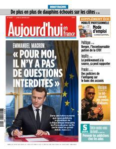 Aujourd'hui en France du Lundi 14 Janvier 2019