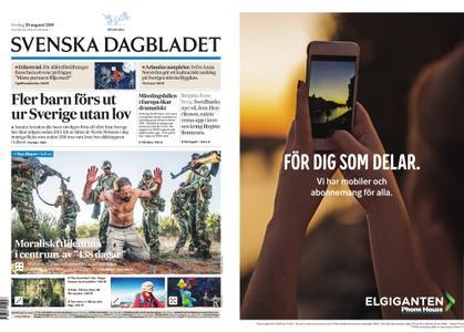 Svenska Dagbladet – 30 augusti 2019