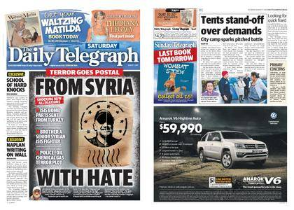 The Daily Telegraph (Sydney) – August 05, 2017