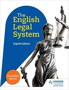 English Legal System, 8th Edition (repost)