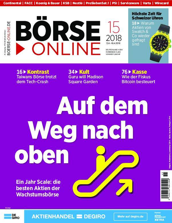 Börse Online - 12. April 2018