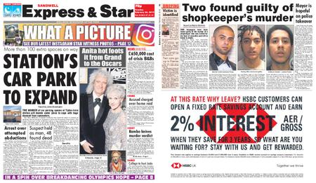 Express and Star Sandwell Edition – February 26, 2019
