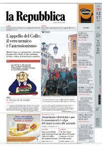 la Repubblica - 30 Dicembre 2017