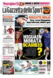 La Gazzetta dello Sport Roma – 22 dicembre 2018