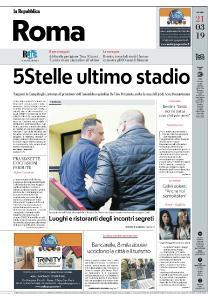 la Repubblica Roma - 21 Marzo 2019