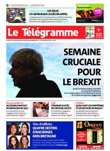 Le Télégramme Landerneau - Lesneven – 09 décembre 2019