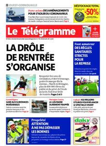 Le Télégramme Ouest Cornouaille – 28 août 2020