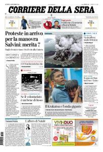 Corriere della Sera – 24 dicembre 2018