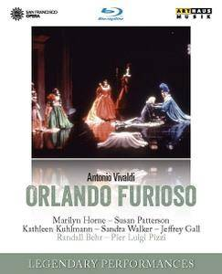 Randall Behr, Orchestra of the San Francisco Opera, Marilyn Horne -  Vivaldi: Orlando furioso (2016/1989) [BDRip]