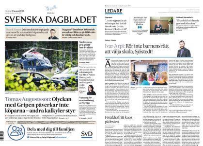 Svenska Dagbladet – 22 augusti 2018