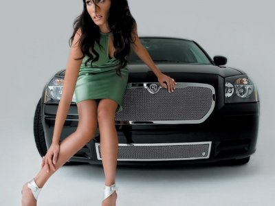 Girls & Cars Wallpapers Collection