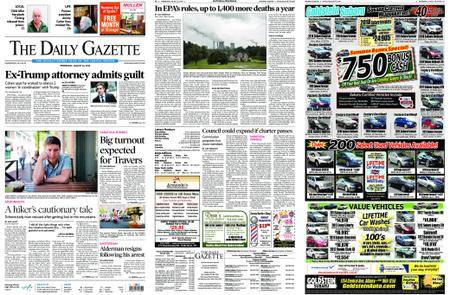 The Daily Gazette – August 22, 2018