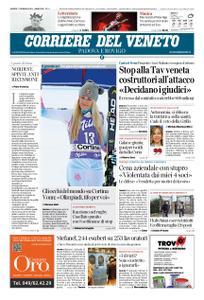 Corriere del Veneto Padova e Rovigo – 17 gennaio 2019