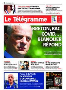 Le Télégramme Quimper – 11 janvier 2021