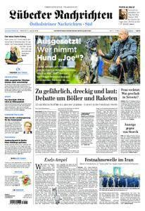 Lübecker Nachrichten Ostholstein Süd - 03. Januar 2018