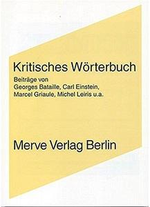 Kritisches Wörterbuch