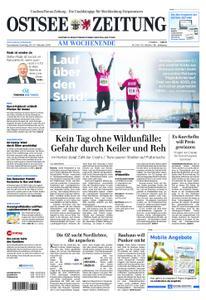 Ostsee Zeitung Wolgast - 20. Oktober 2018