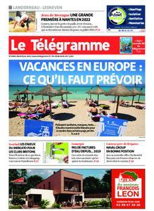 Le Télégramme Landerneau - Lesneven – 08 juin 2021