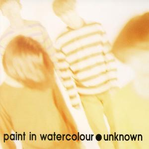 Paint In Watercolour - Unknown (1992) {Invitation/ Victor Japan}