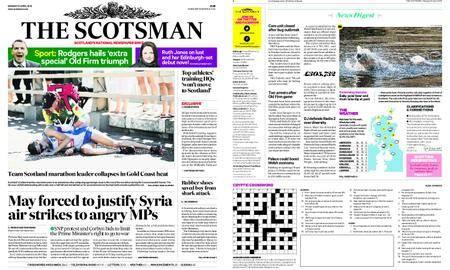 The Scotsman – April 16, 2018