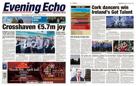 Evening Echo – March 26, 2018