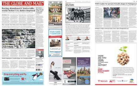 The Globe and Mail – October 24, 2017