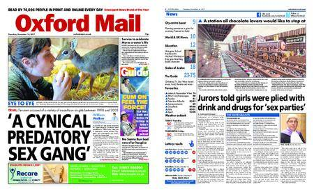 Oxford Mail – December 14, 2017