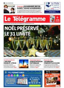Le Télégramme Quimper – 11 décembre 2020
