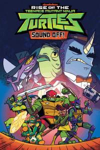IDW-Rise Of The Teenage Mutant Ninja Turtles Sound Off 2020 Hybrid Comic eBook