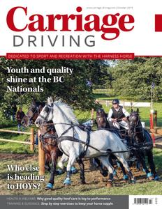 Carriage Driving - October 2019