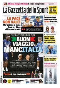 La Gazzetta dello Sport – 07 settembre 2018