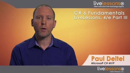 C# 6 Fundamentals LiveLessons Parts I, II, III, and IV, 4th Edition [repost]