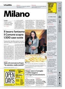 la Repubblica Milano - 15 Dicembre 2017