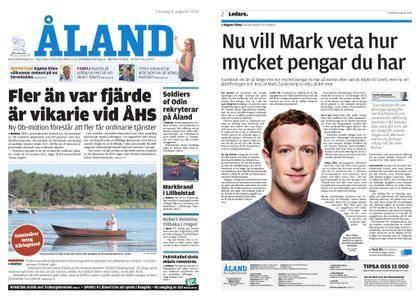 Ålandstidningen – 08 augusti 2018