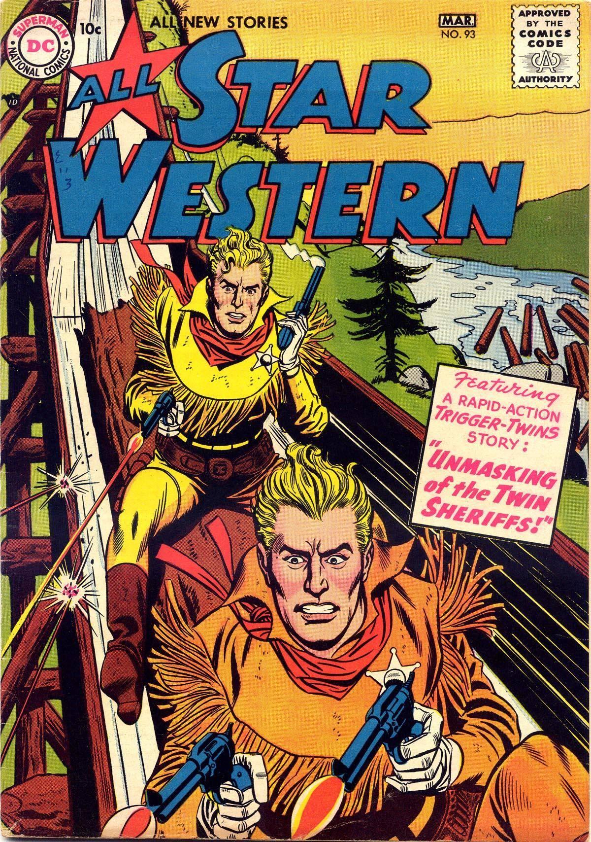 Star Western v1 093 1957