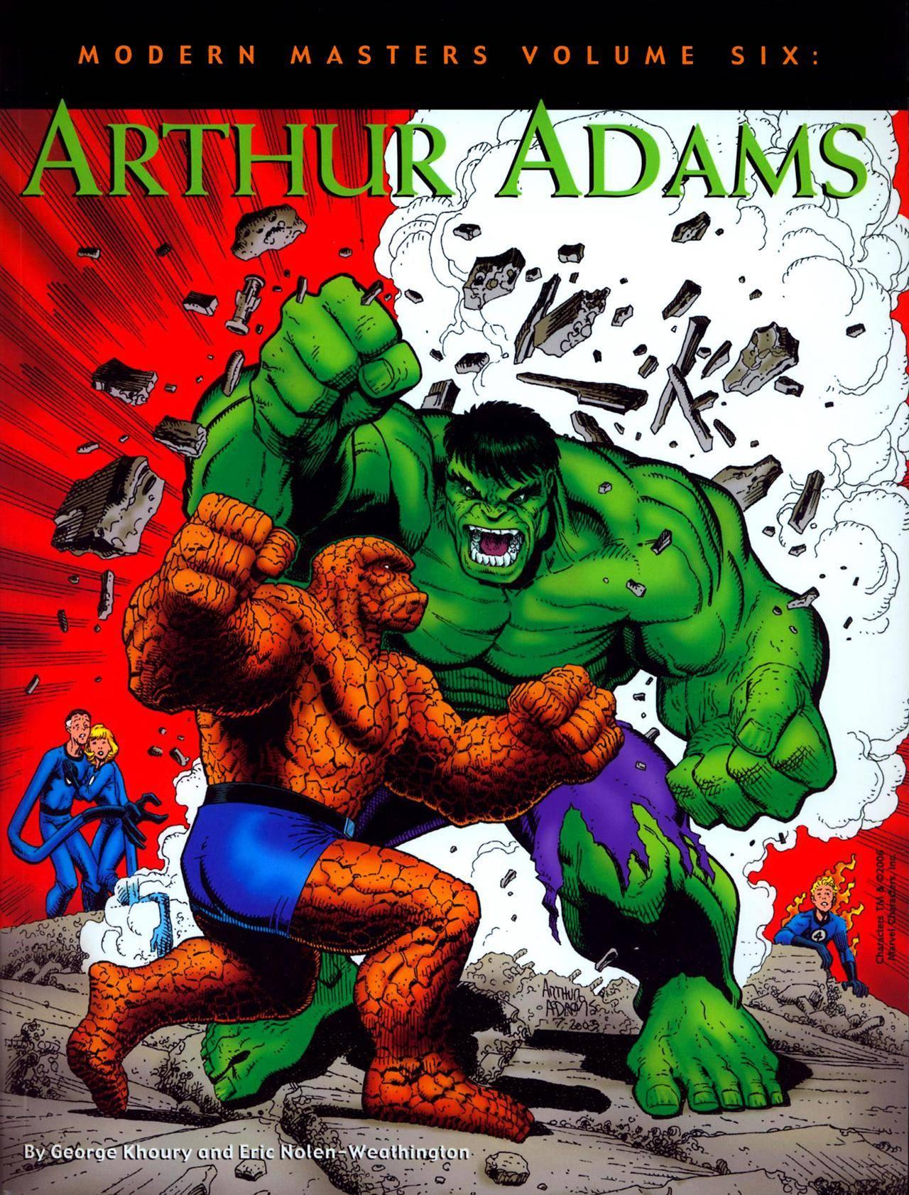 Modern Masters Vol 06 - Arthur Adams Bchry - DCP