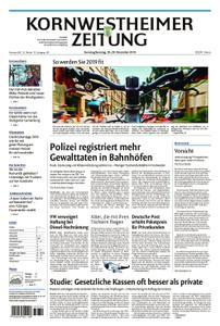 Kornwestheimer Zeitung - 29. Dezember 2018
