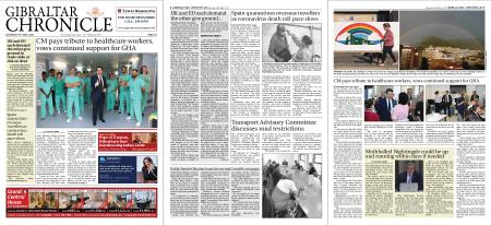 Gibraltar Chronicle – 16 May 2020