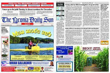 The Laconia Daily Sun – September 08, 2018