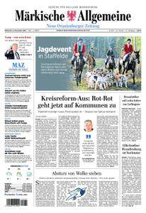 Neue Oranienburger Zeitung - 08. November 2017