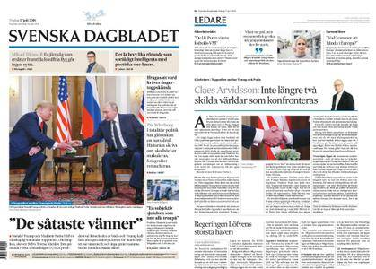 Svenska Dagbladet – 17 juli 2018