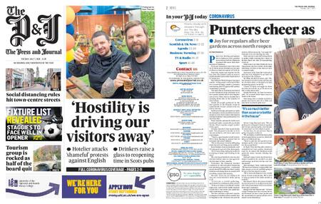 The Press and Journal Moray – July 07, 2020