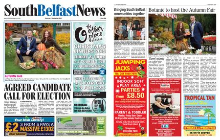 South Belfast News – September 05, 2019