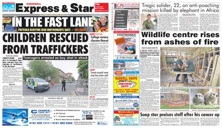 Express and Star Sandwell Edition – May 08, 2019