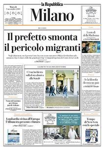 la Repubblica Milano - 5 Novembre 2019