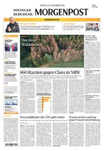 Solinger Morgenpost – 25. November 2019