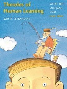Theories of Human Learning: What the Old Man Said, 4th edition (Repost)